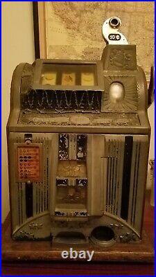 Vintage Mills 10 cent slot machine 1920s