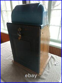 Vintage Mills 777.5 Cents High Top 40s Slot Coin Machine Works LOCAL PICKUP