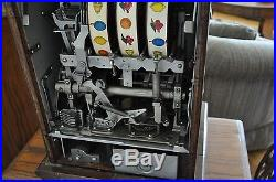 Vintage Mills Castle 5 cent slot machine