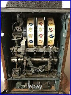 Vintage Mills FOK Mint Vending Slot Machine