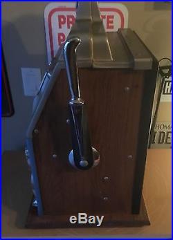 Vintage Mills Golden Nugget Nickel Slot Machine