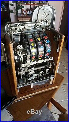 Vintage Mills Golden Nugget Slot Machine
