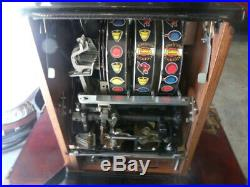 Vintage Mills Golden Nugget Slot Machine Totally Restored REDUCED