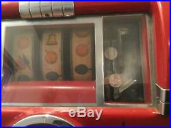 Vintage Mills Jewel Bell High Top 5 cent working slot machine