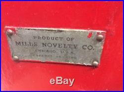 Vintage Mills Novelty Co. Nickel Slot Machine Original -No. 16438 Very Good
