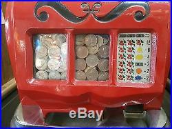 Vintage Mills Sweetheart 1941 5 Cent Slot Machine