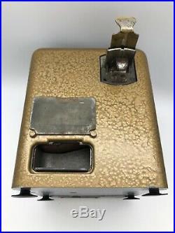 Vintage Mills Vest Pocket Table Top Slot Machine Trade Stimulator Works Well