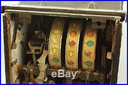 Vintage Mills Wild Black Cherry Antique Slot Machine 5 Cent