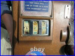 Vintage Original 1939 Mercury De Luxe Cigarette Trade Stimulator W Tokens Works
