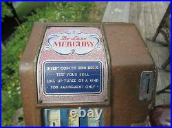 Vintage Original 1939 Mercury De Luxe Trade Stimulator Groetchen Tool Co. Works