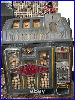 Vintage Pace Bantam Penny Slot Machine