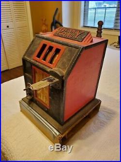 Vintage Penny King Cent A Pack Simulatef Slot Machine
