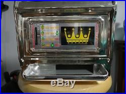 Vintage Waco Casino Crown Toy Slot Machine 25 Cent Coin Operated (Japan)