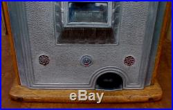 Vintage Watling Blue Seal Slot Machine 5 Cent Parts or Restore See Pictures