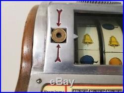 Vintage Watling Slot Machine 5 cent / Nickel, Very Nice Working