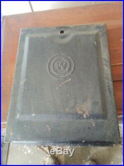 Vintage Watling Slot Machine Original Back Door