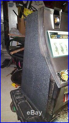 Vintage antique Sega Continental 10 Cent MAD MONEY slot Machine