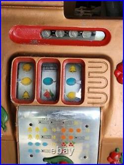 Vintage mills blackcherry 5 cent slot machine. Serviced 2 weeks ago