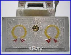 Vtg 1920s Mills Novelty Puritan Bell Trade Stimulator 5 Cent Slot Machine Parts