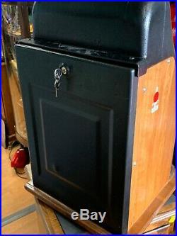 Vtg MILLS Slot Machine Hi Top coin op vending casino antique 50 Cent Owl