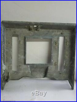 WATLING BLUE SEAL SLOT MACHINE TOP, UPPER, LOWER FRONT CASTINGS With JACK POT