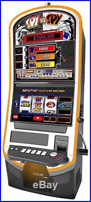 WMS Blade 3 Upright Slot Machine with Spy vs. Spy Theme