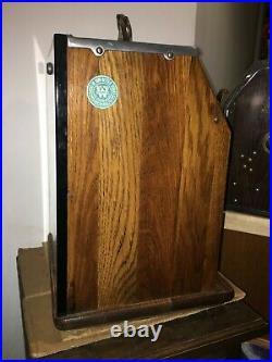 Watling 5 Cent Blue Seal Mechanical Slot Machine Antique
