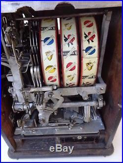 Watling Blue Seal Confections 5 Cent Double Jackpot Mint Vendor Slot Machine