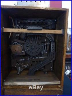 Watling Brownie Counter Upright Slot Machine