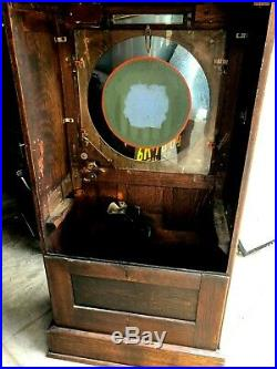 Watling Dewey Slot Machine Case ALL ORIGINAL
