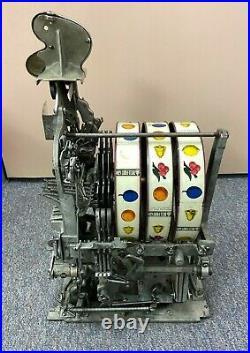 Watling Mechanical Torch Front Twin Jack Pot 5 cent Slot Machine Casino Coin Op