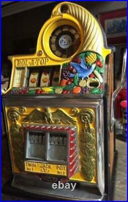 Watling Rol-A-Top Bird Of Paradise Slot Machine 25 Cent