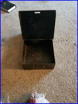 Watling Rol-A-Top Cash Box Heavy Duty Quality used antique