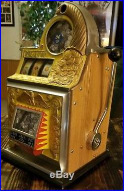 Watling Rol-A-Top Slot Machine Twin Jackpot- Missing Internals