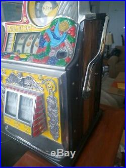Watling Rol a Top Bird of Paradise Slot Machine RARE, THE PREMIER COLLECTABLE