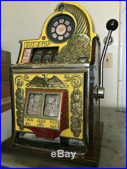 Watling Roll A Top 25 Cent Slot Machine Antique Mechanical Reproduction