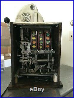 Watling Roll A Top 25 Cent Slot Machine Antique Mechanical Reproduction