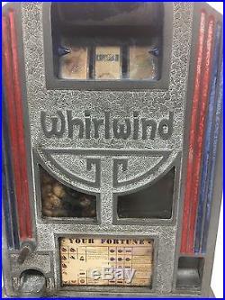 Whirlwind ORIGINAL Antique Trade Stimulator Gum Ball Vendor