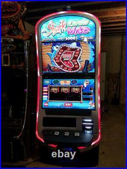 Wms bb3 blade, 2016 3 reel shark raving mad slot machine