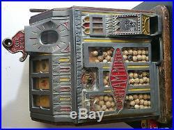 Working vintage slot machine bantam pace mfg
